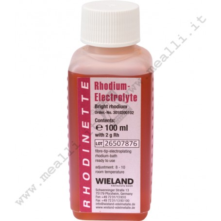 WIELAND White Rhodium Pen-Plating Solution