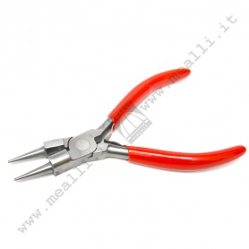 Round Nose Plier with cutter 130 mm