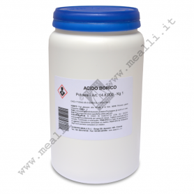 Boric acid powder for fusion 1 kg.