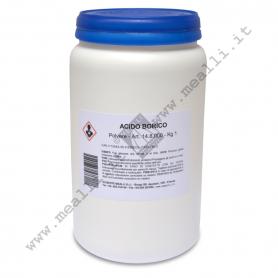 Acido borico in polvere per fusione 1 kg.
