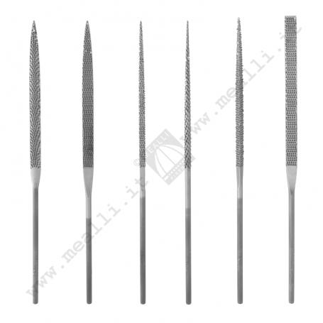 Set of 6 Wax Needle Rasps