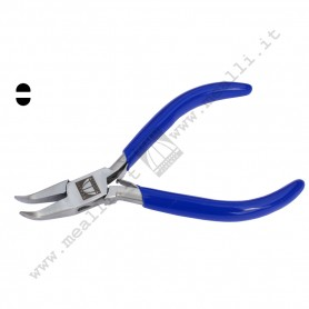 Bent Chain-Nose Plain Jaws Plier