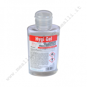 Gel lavamani a base alcolica 100 ml.