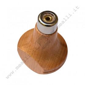 Wood beading tool handle