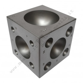 Steel Dapping Block from 4 to 55 mm