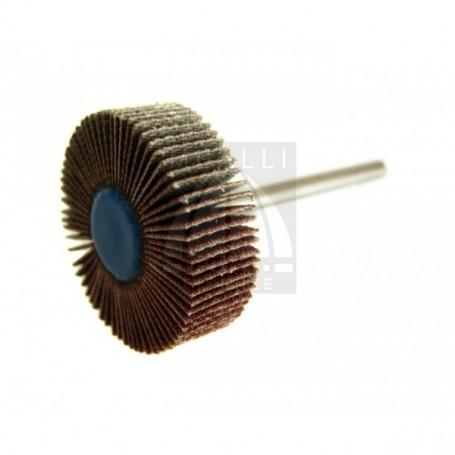 Ruota Lamellare mm 30x10 - gambo 3 mm