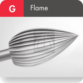 MAILLEFER Flame Burs - Fig. G