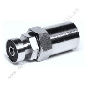 Bayonet joint with rubber hose sleeve 6x14 mm
