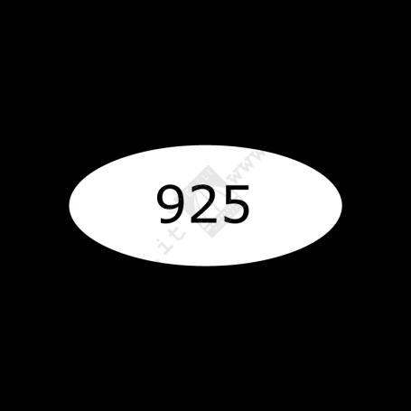 Punzone per Argento 925 - II Misura - Curvo