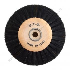 Spazzola Crine nero Ø 80 mm - 4 ranghi