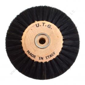Circular Brush Ø 80 mm 2 Rows - Stiff black chungking bristle