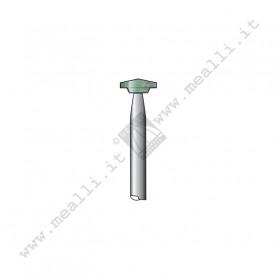 Green Silicon carbide Disc Bur Ø 10 mm
