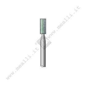 Green Silicon carbide Cylinder Bur 3x8 mm