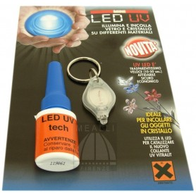 Colla per Vetro e Cristallo LED UV