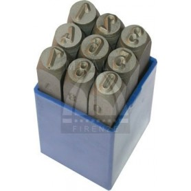 Numerical Marking punch set  - mm 6.0