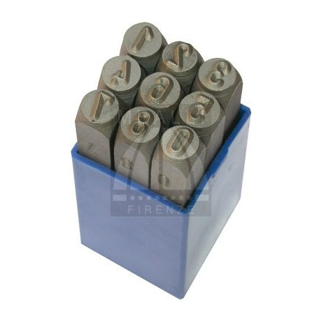 Numerical Marking punch set  - mm 8.0