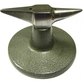 Hardened Steel Anvil with base mm 100