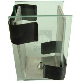 Staffa in vetro per gomme siliconiche